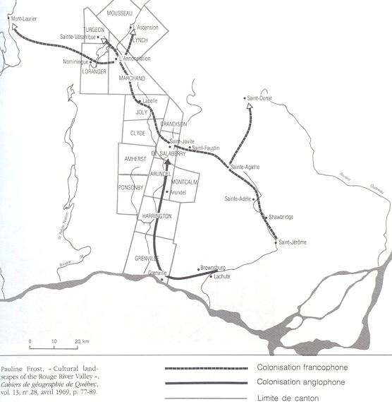 Colonization, Rouge River Valley / Colonisation, Vallée de la rivière Rouge, 1840-1880
