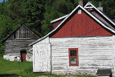 Maison en pièce sur pièce / Squared log house