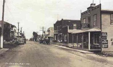 Centreville, v.1935 / Downtown c.1935