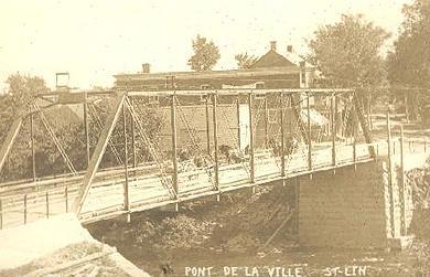 Le pont du village / The village bridge