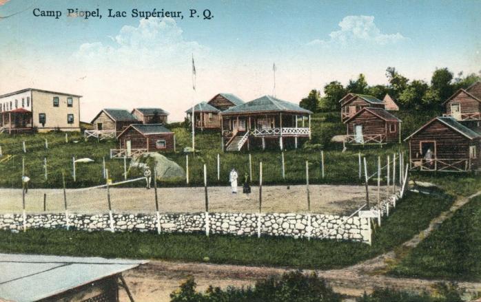 Camp Riopel, Lac Supérieur, 1932