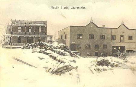 Moulin à scie / Sawmill