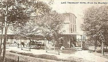 Hôtel Mont-Tremblant, v.1910 / Lake Tremblant Hotel, c.1910