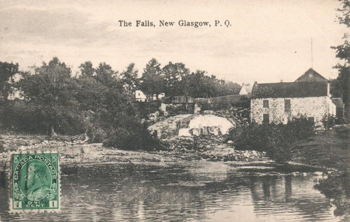 La chute / The Falls, New Glasgow, 1910