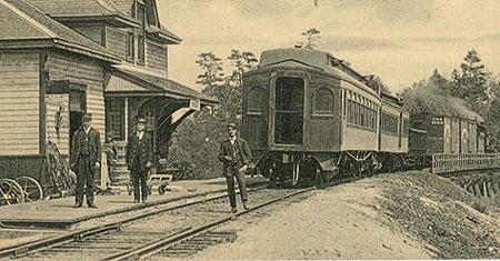 La gare, v.1910 / Train station, c.1910