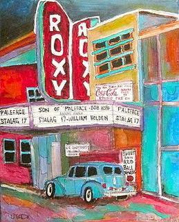 The Roxy Theatre, St. Agathe, by Michael Litvack