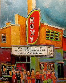 Roxy Theatre, St. Agathe, by Michael Litvack
