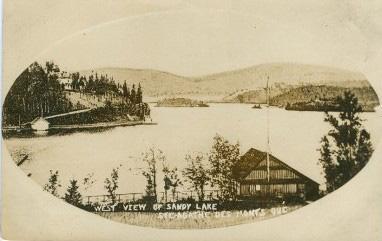 "Lac des Sables / ""Sandy Lake"" (1908)"