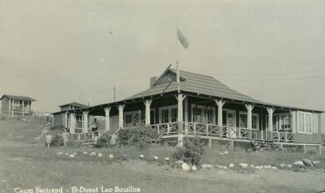 Camp Bertrand, Lac Bouillon