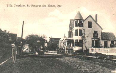 """""""Villa Cloutier,"""" vers / circa 1915"""