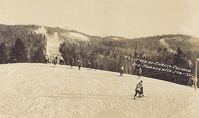 Le ski / Skiing, Chalet Cochand