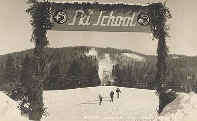 L'école de ski / Ski school, Chalet Cochand