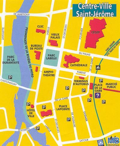 Downtown Saint-Jérôme / Saint-Jérôme, Centreville