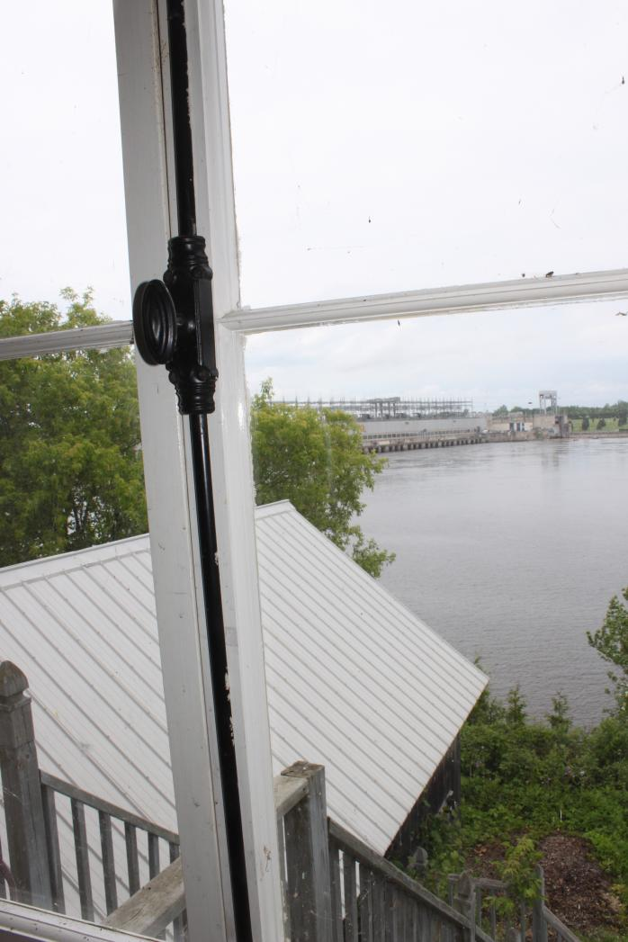 View of Carillon Dam from the Macdonell-Williamson House