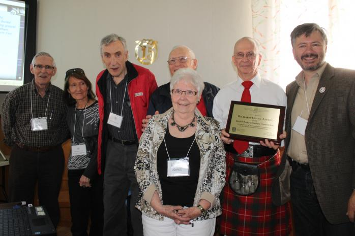 2015 AGM Luncheon and Awards Ceremony: Richard Evans Award