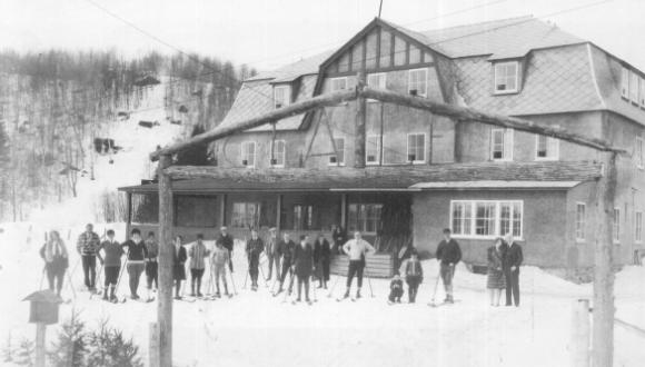 Chalet Cochand, 1914. Photo - Chas Cochand collection