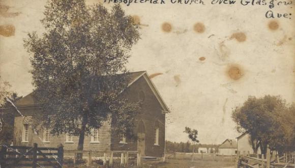 Église presbytérienne / Presbyterian Church, New Glasgow, 1907
