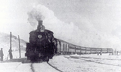 Snow train to the Laurentians. (Photo - Skiing Legends...)
