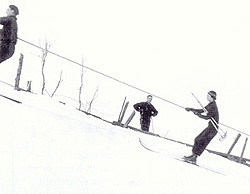 Foster's Folly. (Photo - Skiing Legends and the Laurentian Lodge Club)