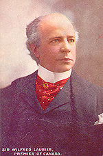 Laurier as Prime Minister. (Photo - Farfan Collection)