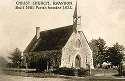 Christ Church, Rawdon, c.1900. (Photo - Rawdon Historical Society)