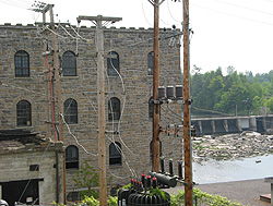 The former Ayer's Woolen Mill. (Photo - Matthew Farfan)