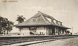 Station, Joliette. (Photo - Farfan Collection)