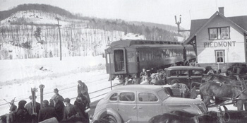 Station, Piedmont. (Photo - Skiing Legends and the Laurentian Lodge Club)