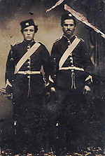 Militia, c.1860s. (Photo - Rawdon Historical Society)